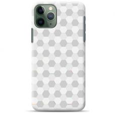 "Iphone 11 Pro max silicone phone case with unique design 1.0 mm ""u-case Airskin Pattern 5 design"""