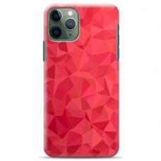 "Iphone 11 Pro Max silicone phone case with unique design 1.0 mm ""u-case Airskin Pattern 6 design"""