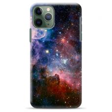 "Iphone 11 Pro max silicone phone case with unique design 1.0 mm ""u-case Airskin Space 2 design"""