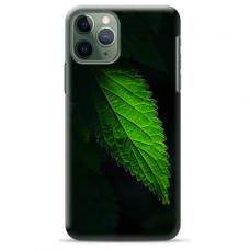 """Iphone 11 Pro max silicone phone case with unique design 1.0 mm """"u-case airskin Nature 1 design"""""""