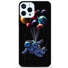 "Iphone 11 Pro max Unique Silicone Case 1.0 mm ""u-case Airskin Cosmo design"""