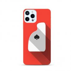 "Iphone 11 pro max Unique Silicone Case 1.0 mm ""u-case Airskin Ace design"""