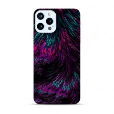 "Iphone 11 Pro max Unique Silicone Case 1.0 mm ""u-case Airskin Feather design"""