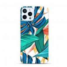 """Iphone 11 Pro max Unique Silicone Case 1.0 mm """"u-case Airskin Leaves 1 design"""""""