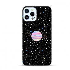 "Iphone 11 Pro max Unique Silicone Case 1.0 mm ""u-case Airskin Planet design"""