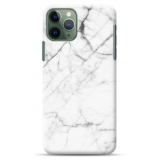 "Iphone 11 Pro silicone phone case with unique design 1.0 mm ""u-case Airskin Marble 6 design"""