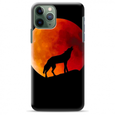 "Iphone 11 Pro silicone phone case with unique design 1.0 mm ""u-case Airskin Nature 3 design"""