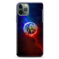 "Iphone 11 Pro silicone phone case with unique design 1.0 mm ""u-case Airskin Nature 4 design"""