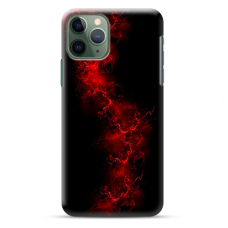 "Iphone 11 Pro silicone phone case with unique design 1.0 mm ""u-case Airskin Space 3 design"""