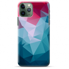 "Iphone 11 Pro silicone phone case with unique design 1.0 mm ""u-case airskin Pattern 8 design"""