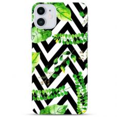 "Iphone 11 Pro Unique Silicone Case 1.0 mm ""u-case Airskin Leaves 2 design"""