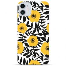 """Iphone 11 Pro Unique Silicone Case 1.0 mm """"u-case Airskin Flowers 2 design"""""""