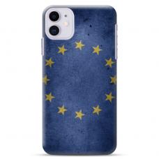 """Iphone 11 silicone phone case with unique design 1.0 mm """"u-case Airskin EU design"""""""