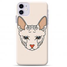 """Iphone 11 silicone phone case with unique design 1.0 mm """"u-case Airskin Kato design"""""""