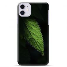 """Iphone 11 silicone phone case with unique design 1.0 mm """"u-case Airskin Nature 1 design"""""""