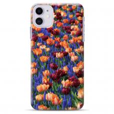 """Iphone 11 silicone phone case with unique design 1.0 mm """"u-case Airskin Nature 2 design"""""""