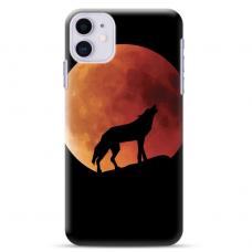"""Iphone 11 silicone phone case with unique design 1.0 mm """"u-case Airskin Nature 3 design"""""""