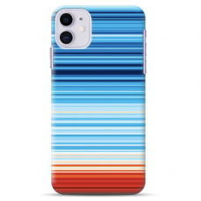 "Iphone 11 silicone phone case with unique design 1.0 mm ""u-case Airskin Pattern 2 design"""