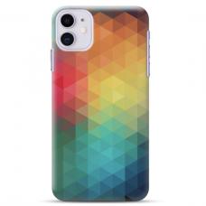"Iphone 11 silicone phone case with unique design 1.0 mm ""u-case Airskin Pattern 3 design"""