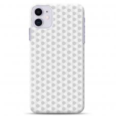 "Iphone 11 silicone phone case with unique design 1.0 mm ""u-case Airskin Pattern 5 design"""