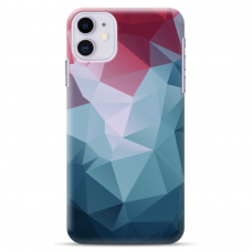 "Iphone 11 silicone phone case with unique design 1.0 mm ""u-case Airskin Pattern 8 design"""