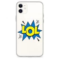 "Iphone 12 Mini Unique Silicone Case 1.0 mm ""u-case Airskin LOL design"""