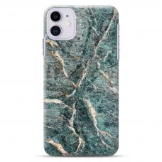 "Iphone 12 Mini Unique Silicone Case 1.0 mm ""u-case Airskin Marble 1 design"""