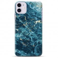 "Iphone 12 Mini Unique Silicone Case 1.0 mm ""u-case Airskin Marble 2 design"""
