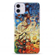 """Iphone 12 Mini Unique Silicone Case 1.0 mm """"u-case Airskin Pattern 1 design"""""""