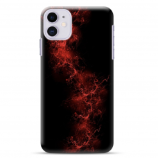 "Iphone 12 Mini Unique Silicone Case 1.0 mm ""u-case Airskin Space 3 design"""