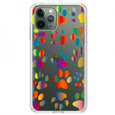 "Iphone 12 Pro max Unique Silicone Case 1.0 mm 1.0 mm ""u-case airskin PAW design"""