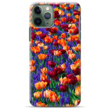 """Iphone 12 Pro max Unique Silicone Case 1.0 mm """"u-case Airskin Nature 2 design"""""""