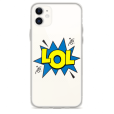 "Iphone 12 Unique Silicone Case 1.0 mm ""u-case Airskin LOL design"""