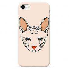 """Iphone 7 / Iphone 8 silicone phone case with unique design 1.0 mm """"u-case Airskin Kato design"""""""