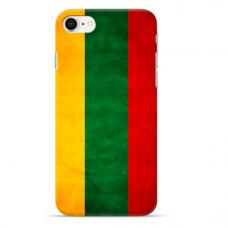 "Iphone 7 / Iphone 8 silicone phone case with unique design 1.0 mm ""u-case Airskin Lietuva design"""