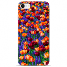 """Iphone 7 / Iphone 8 silicone phone case with unique design 1.0 mm """"u-case Airskin Nature 2 design"""""""