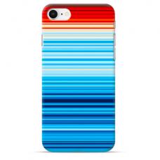 "Iphone SE 2020 / Iphone 8 / Iphone 7 silicone phone case with unique design 1.0 mm ""u-case Airskin Pattern 2 design"""