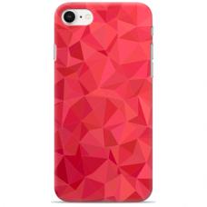 "Iphone SE 2020 / Iphone 8 / Iphone 7 silicone phone case with unique design 1.0 mm ""u-case Airskin Pattern 6 design"""