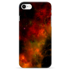 "Iphone SE 2020 / Iphone 8 / Iphone 7 silicone phone case with unique design 1.0 mm ""u-case Airskin Space 1 design"""
