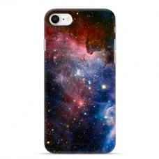 "Iphone SE 2020 / Iphone 8 / Iphone 7 silicone phone case with unique design 1.0 mm ""u-case Airskin Space 2 design"""