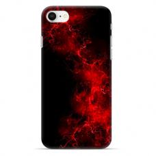 "Iphone SE 2020 / Iphone 8 / Iphone 7 silicone phone case with unique design 1.0 mm ""u-case Airskin Space 3 design"""