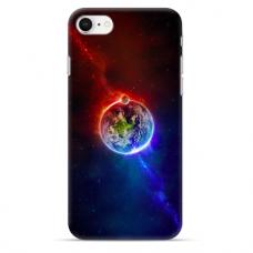 """Iphone 7 / Iphone 8 silicone phone case with unique design 1.0 mm """"u-case airskin Nature 3 design"""""""