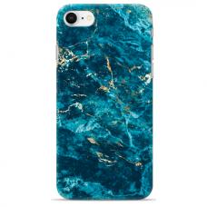 """Iphone 7 / Iphone 8 Unique Silicone Case 1.0 mm """"u-case Airskin Marble 2 design"""""""