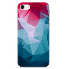 """Iphone 7 / Iphone 8 Unique Silicone Case 1.0 mm """"u-case Airskin Pattern 8 design"""""""