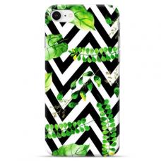 """Iphone 7 / Iphone 8 Unique Silicone Case 1.0 mm """"u-case Airskin Leaves 2 design"""""""