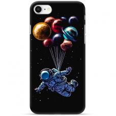 """Iphone 7 / Iphone 8 Unique Silicone Case 1.0 mm """"u-case Airskin Cosmo design"""""""