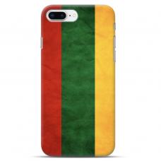 """Iphone 7 Plus / Iphone 8 Plus Unique Silicone Case 1.0 mm """"u-case Airskin Lietuva design"""""""