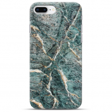 "Iphone 7 Plus / Iphone 8 Plus silicone phone case with unique design 1.0 mm ""u-case airskin Marble 1 design"""
