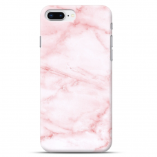 "Iphone 7 Plus / Iphone 8 Plus silicone phone case with unique design 1.0 mm ""u-case Airskin Marble 5 design"""