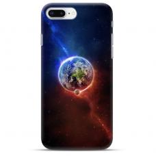 """Iphone 7 Plus / Iphone 8 Plus Unique Silicone Case 1.0 mm """"u-case airskin Nature 4 design"""""""